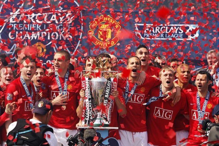 Premier League Champions 08/09 - Manchester United Photo ...