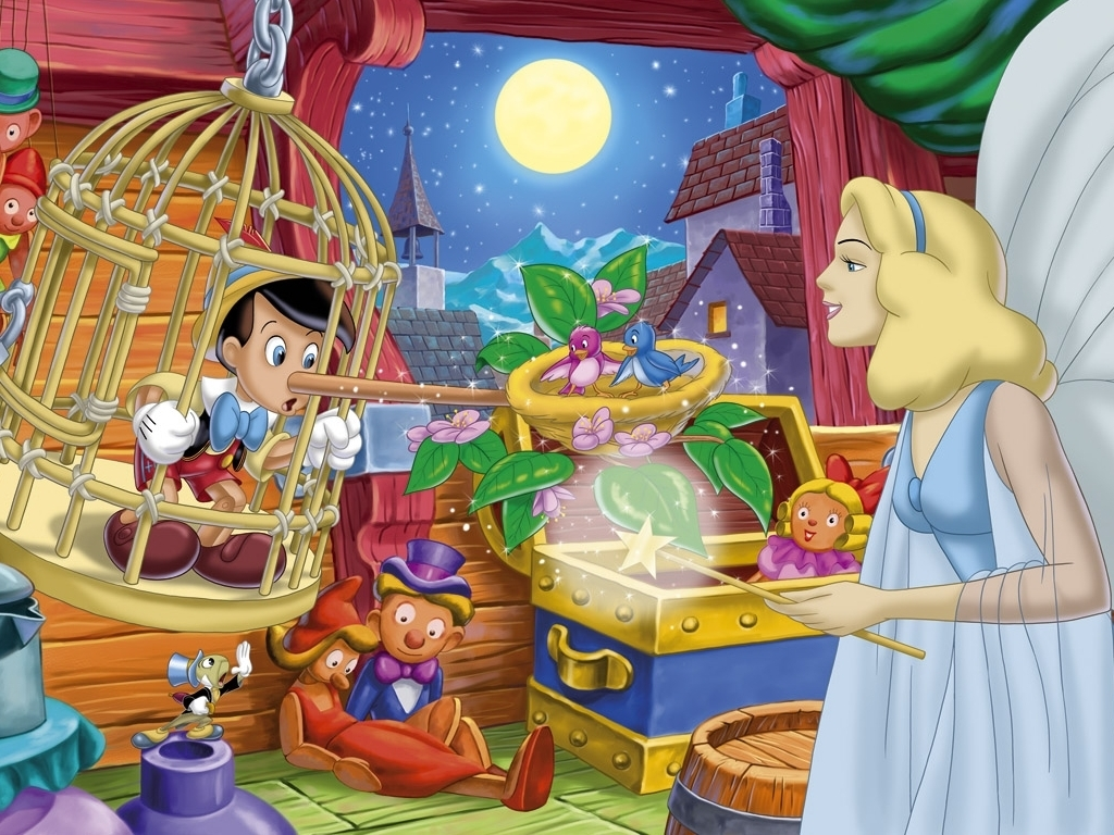 Pinocchio Cartoons Classic
