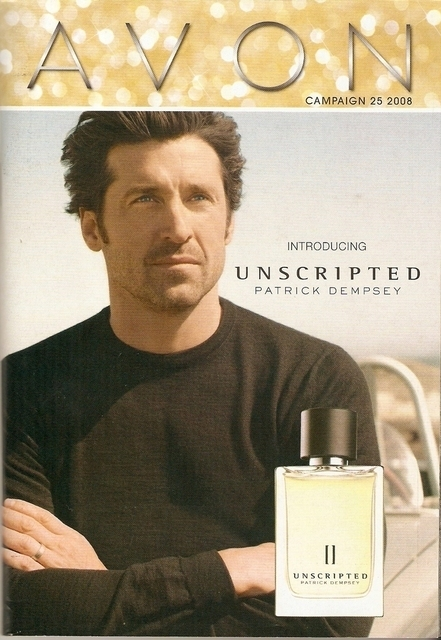 Patrick for Avon cologne- Unscripted - patrick-dempsey photo