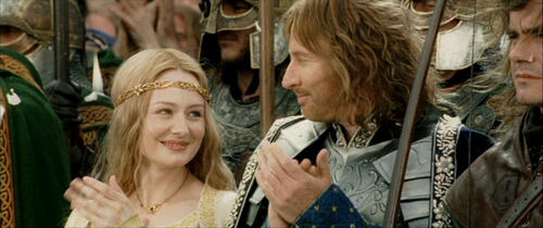 Lord of the Rings' Eowyn and Faramir.