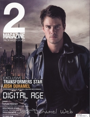 Josh on the July cover of 2 Magazine from Thailand. - josh-duhamel photo
