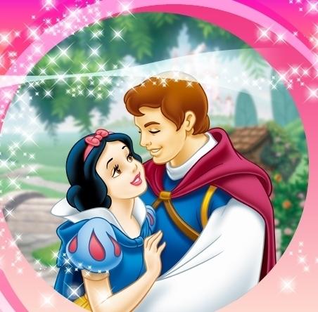 Princess Snow White and Prince