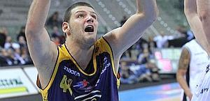 Dejan Ivanov, 24enne centro, 14,7 punti di media. Ciam/Cast