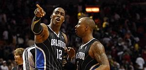 Howard e Quentin Richardson. Reuters