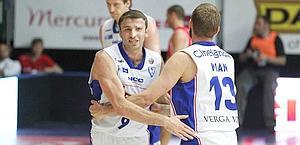 Markoishvili festeggia con Mian. Ciam/Cast