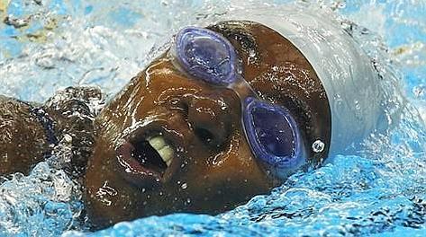 Ayouba-Ali Sihame, ai Giochi ha nuotato i 100 sl in 1'14''40