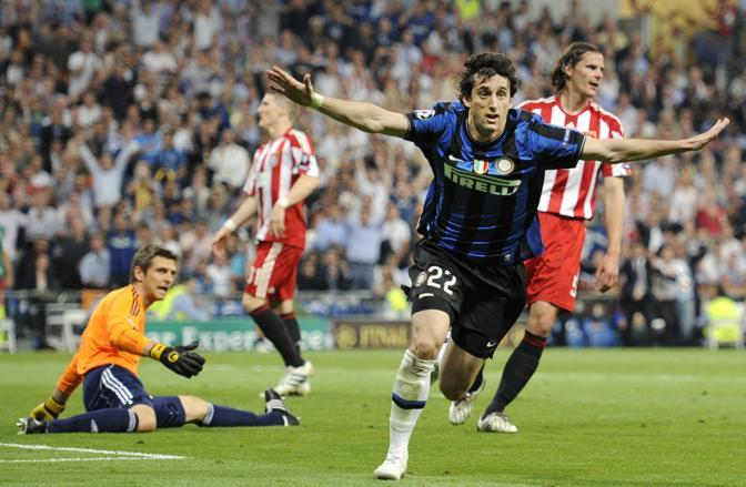 Dopo il gol in finale di Coppa Italia e il gol scudetto a Siena è sempre Milito l'uomo decisivo. (GazSport)