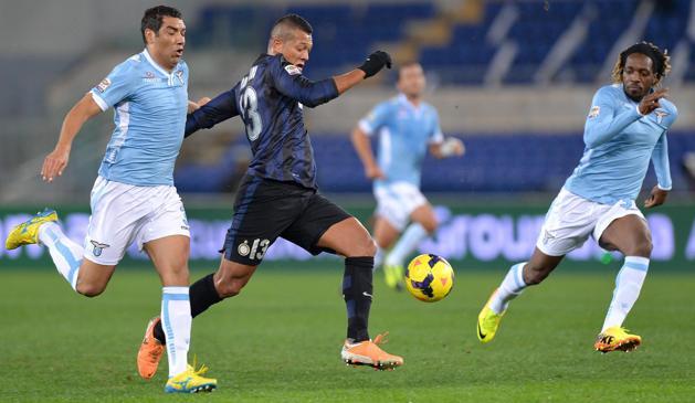 Un'immagine di Lazio-Inter
