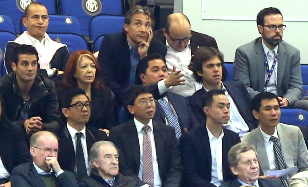 Thohir durante Inter-Bologna