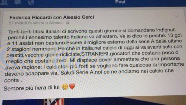 post ragazza cerci