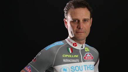 Alessandro Petacchi, 41 anni, con la nuova maglia della Southeast