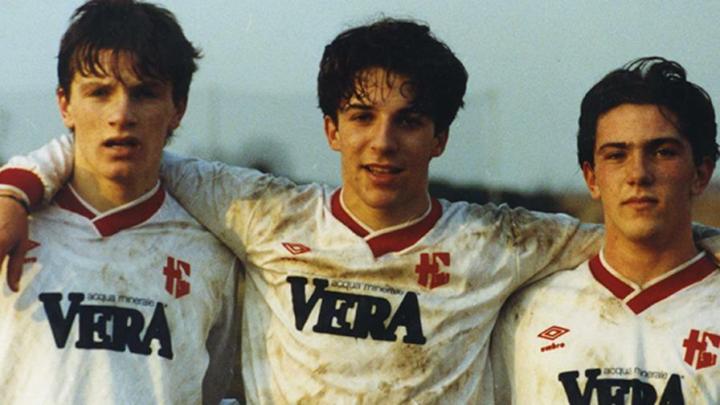 Un giovanissimo Alessandro Del Piero con la maglia del Padova. | Numerosette Magazine