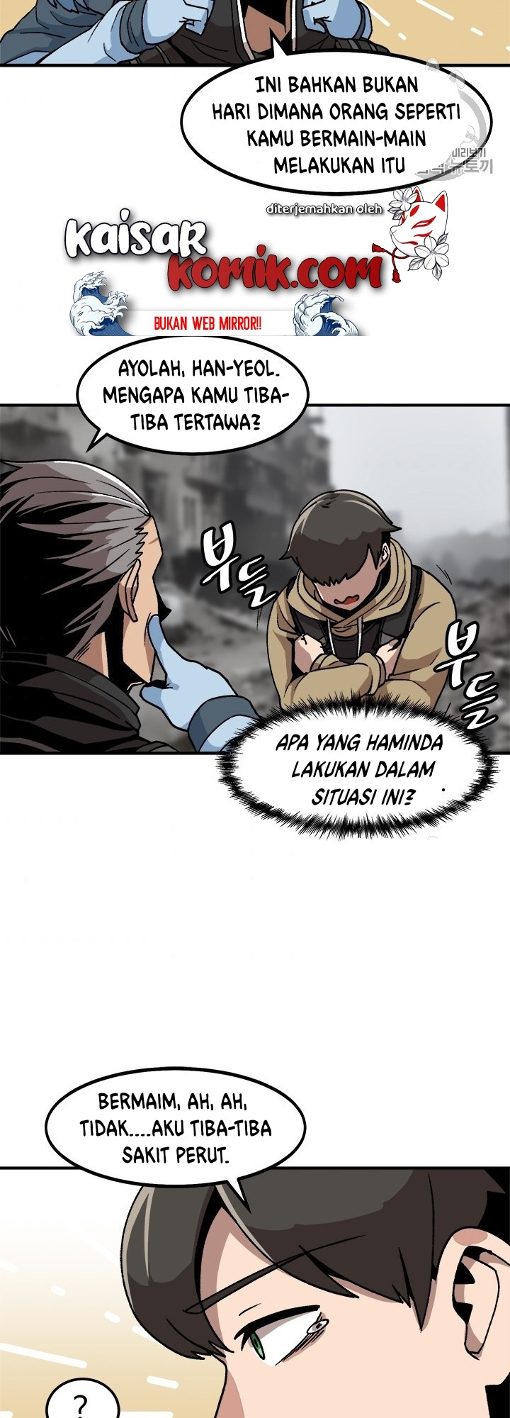 Bring my level up alone Chapter 04 Bahasa Indonesia
