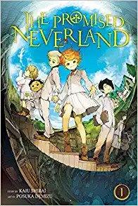Cover Manga Yakusoku No Neverland (Volume 1)