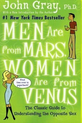 كتاب الرجال من المريخ، والنساء من الزهرة