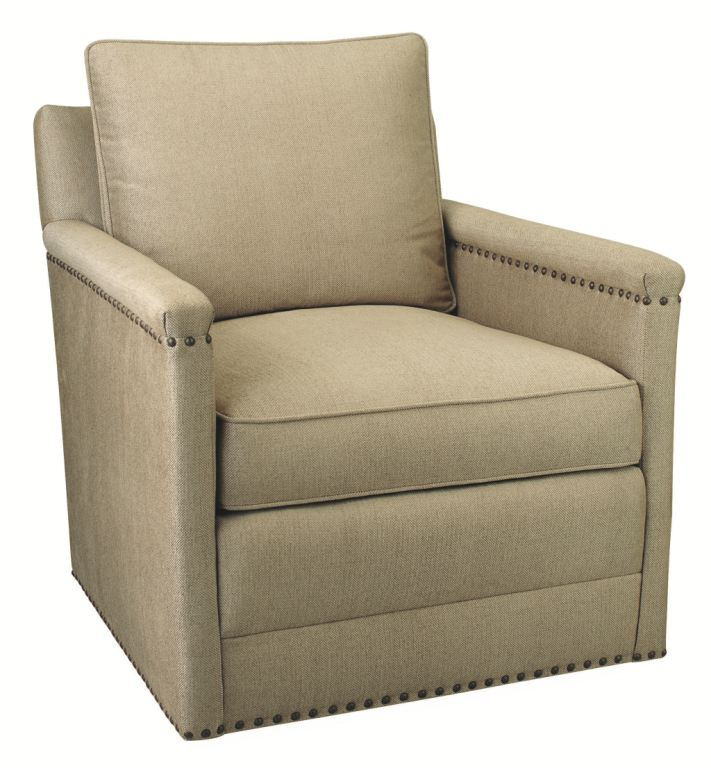 Lee Industries Living Room Swivel Chair 1935 01SW Alyson