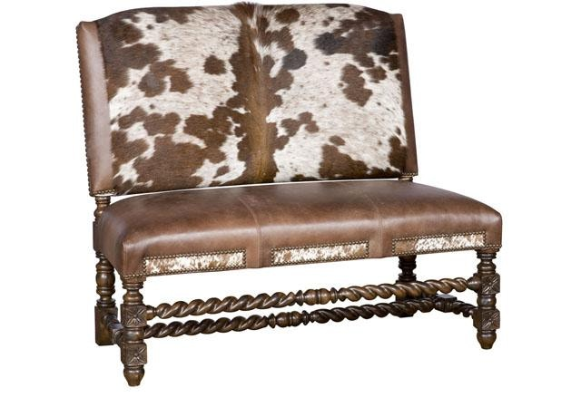King Hickory Living Room Montes Armless Settee W17-20-HOH ...