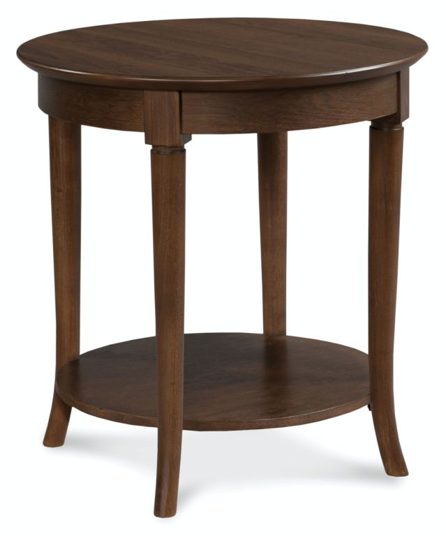 Fairfield Chair Company Living Room Round Accent Table
