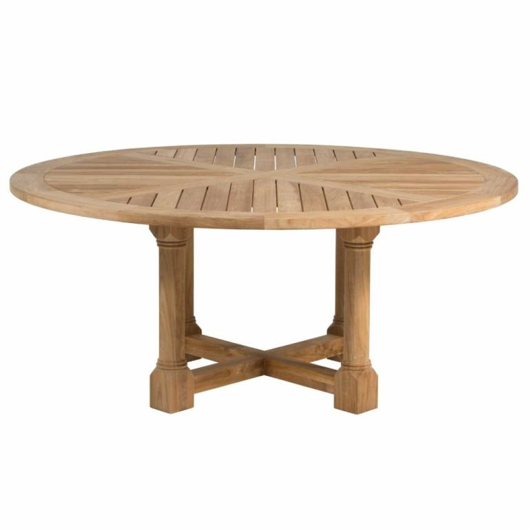 lakeshore 72 round dining table