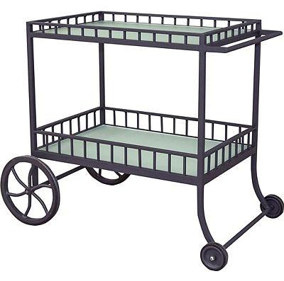 lane venture outdoor patio bar cart