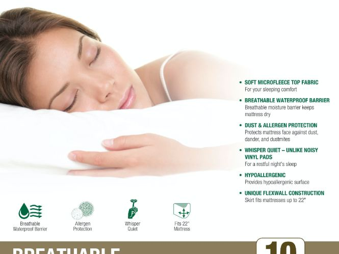 Star Furniture Breathable Mattress Protector