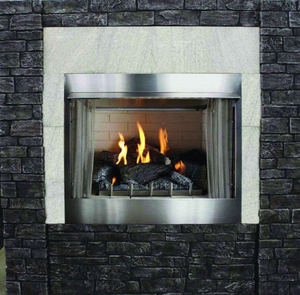 FH Casual Exclusive - Outdoor Fireplace   The Fire House ... on Fireplace Casual Living id=17551