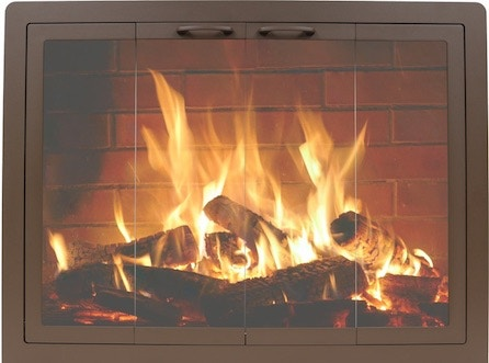 FH Casual - Contour Masonry Fireplace Doors   The Fire ... on Fireplace Casual Living id=59329