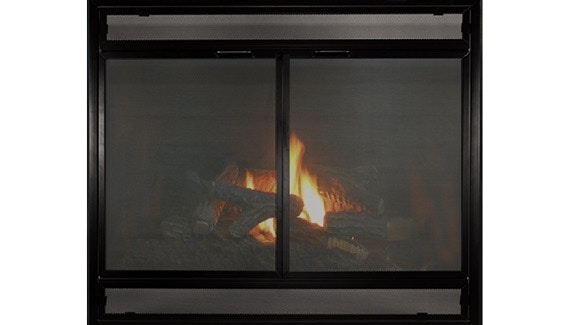 FH Casual - Direct Vent Pre-Fabricated Fireplace Doors ... on Fireplace Casual Living id=86723