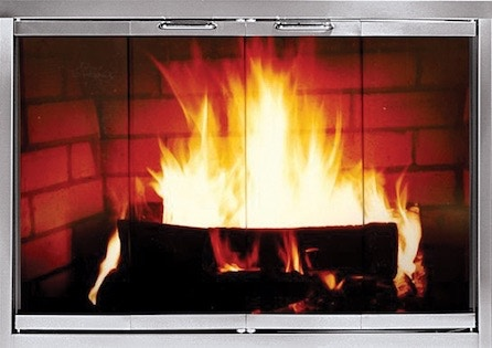 FH Casual - Z-Classic Pre-Fabricated Fireplace Doors   The ... on Fireplace Casual Living id=44184