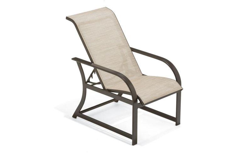 winston outdoor patio sling adjustable
