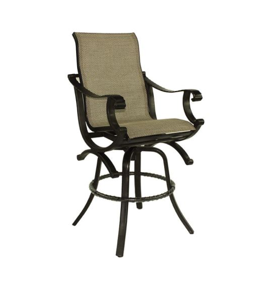 sling swivel bar stool