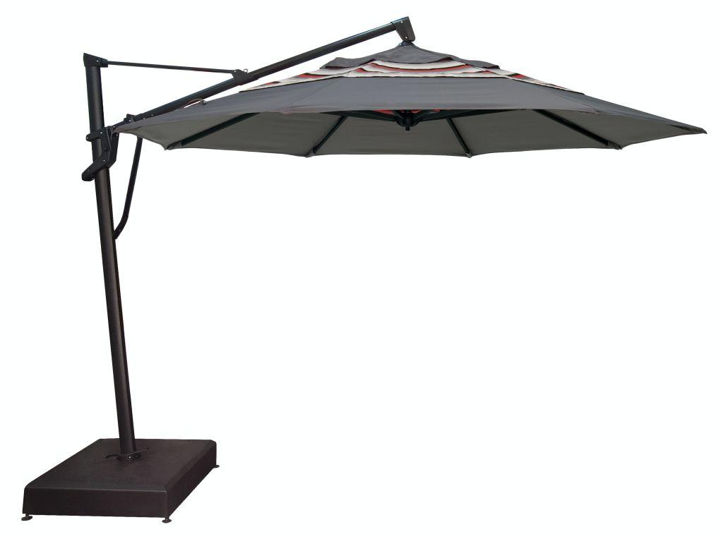 treasure garden outdoor patio umbrella cantilever plus 11 foot octagon