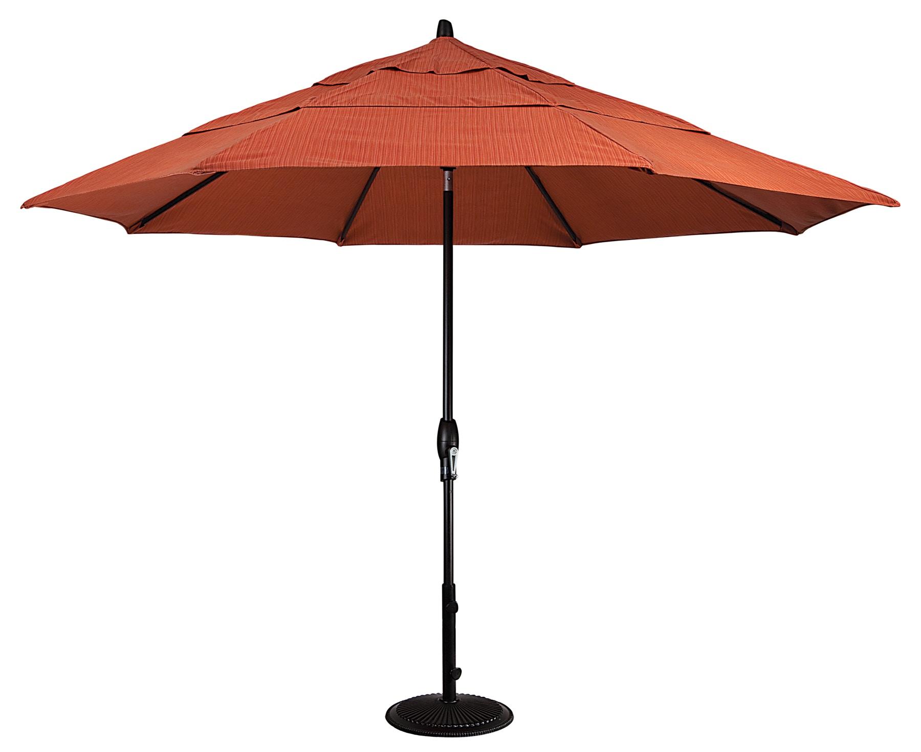 treasure garden outdoor patio 9 foot auto tilt umbrella double wind vent