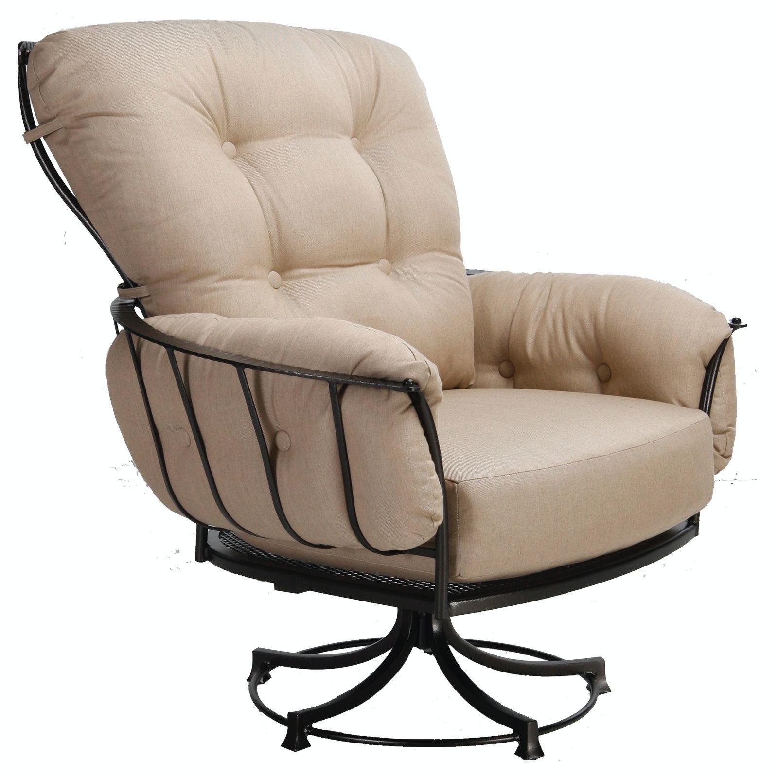 ow lee outdoor patio swivel rocker lounge chair 421 sr