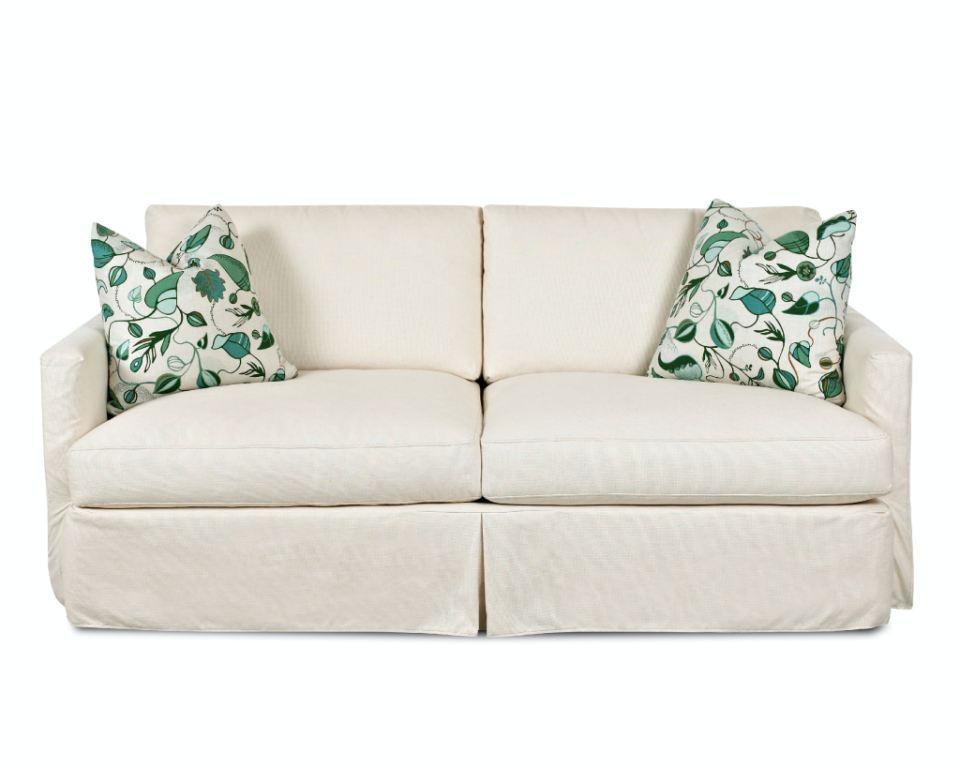 Klaussner Living Room Leisure Sofa D4133 XS Hanks Fine