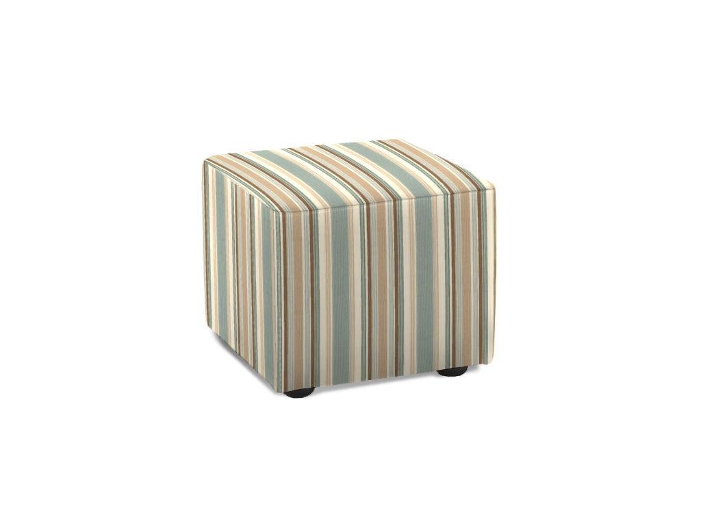 Klaussner Living Room Cubes Ottoman 8m Otto Trivett S