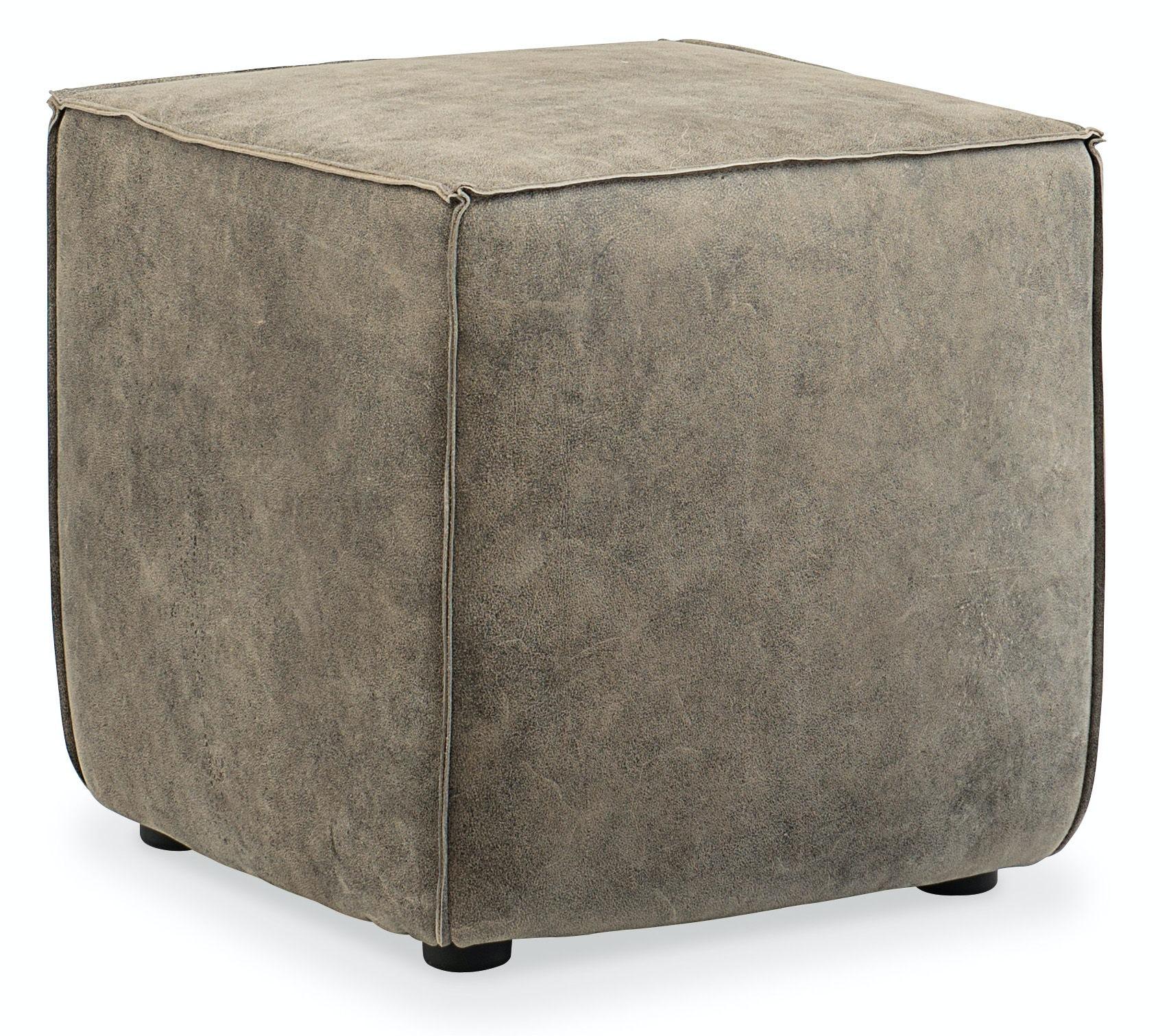 Hooker Furniture Living Room Quebert Cube Ottoman Hsco393097 Walter E Smithe Furniture Design