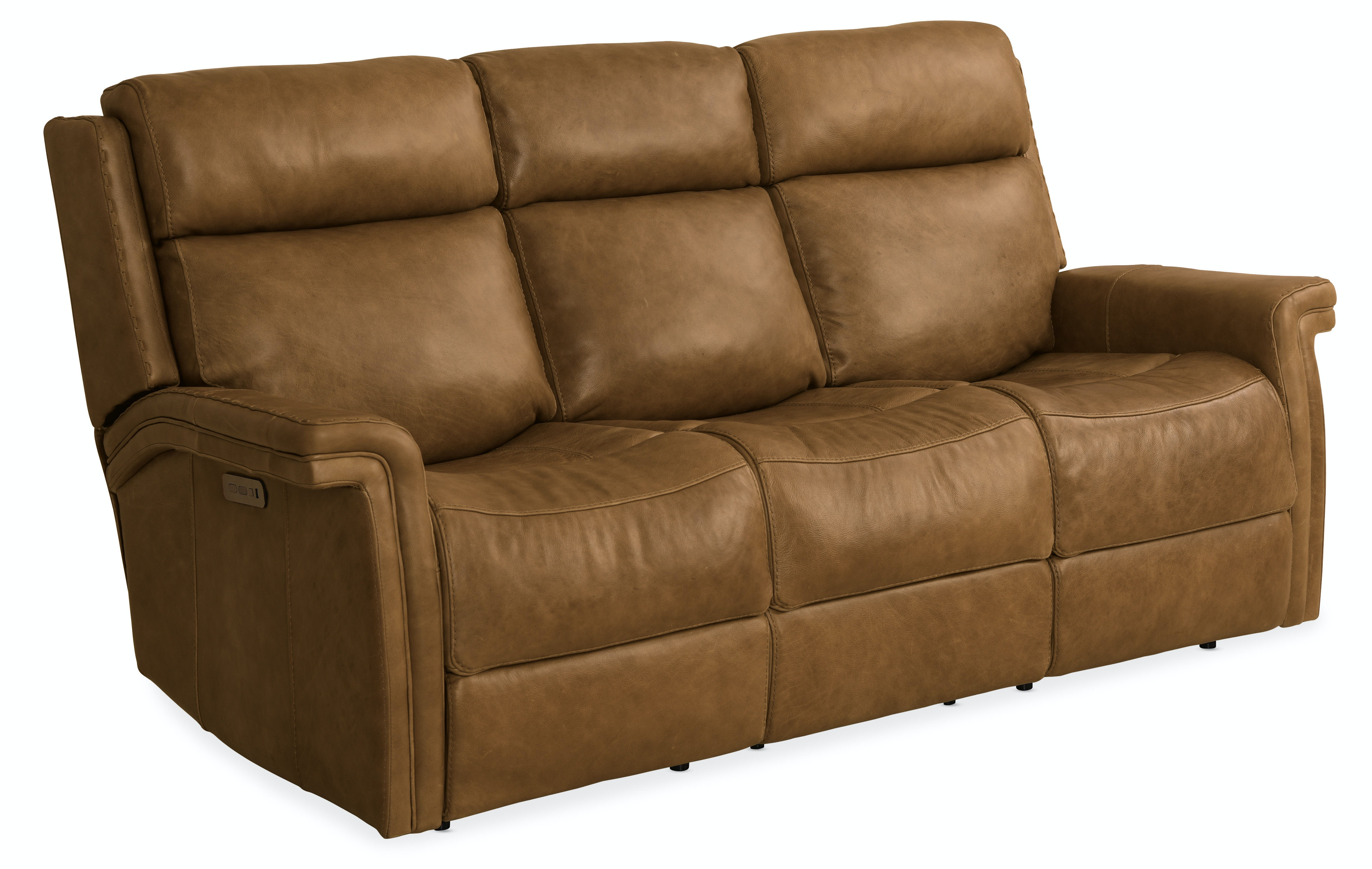 Hooker Furniture Living Room Poise Power Recliner Sofa W