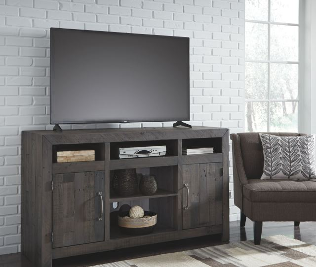 Signature Design By Ashley Home Entertainment Lg Tv Stand W Fireplace Option W729 68 At Fwdg