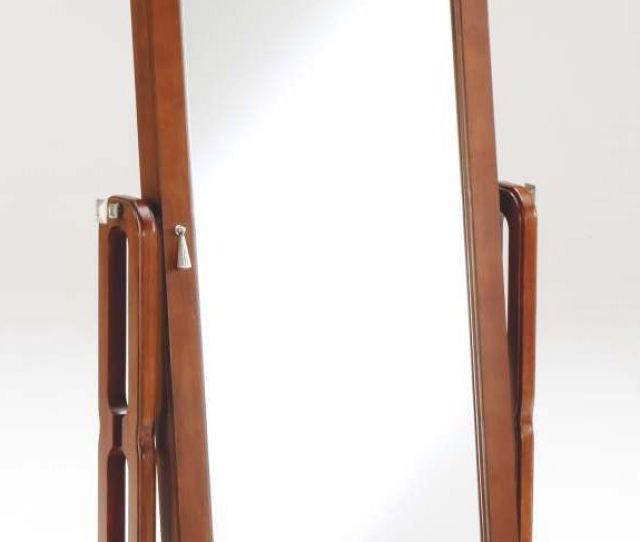 Bernards Cherry Jewelry Armoire Mirror