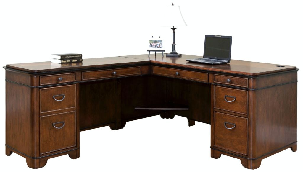 martin furniture home office left hand