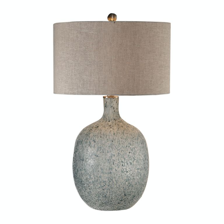 uttermost lamps and lighting oceanna glass table lamp 041677153