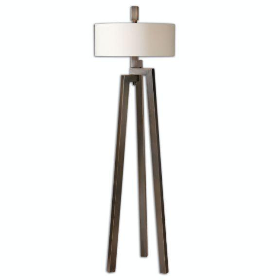 Uttermost Lamps And Lighting Mondovi Modern Floor Lamp