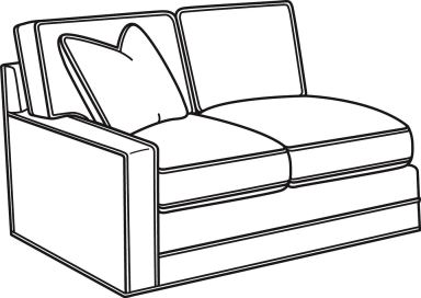 Lexington Living Room Bristol Sectional 6300 Sectional McCreerys Home Furnishings Sacramento