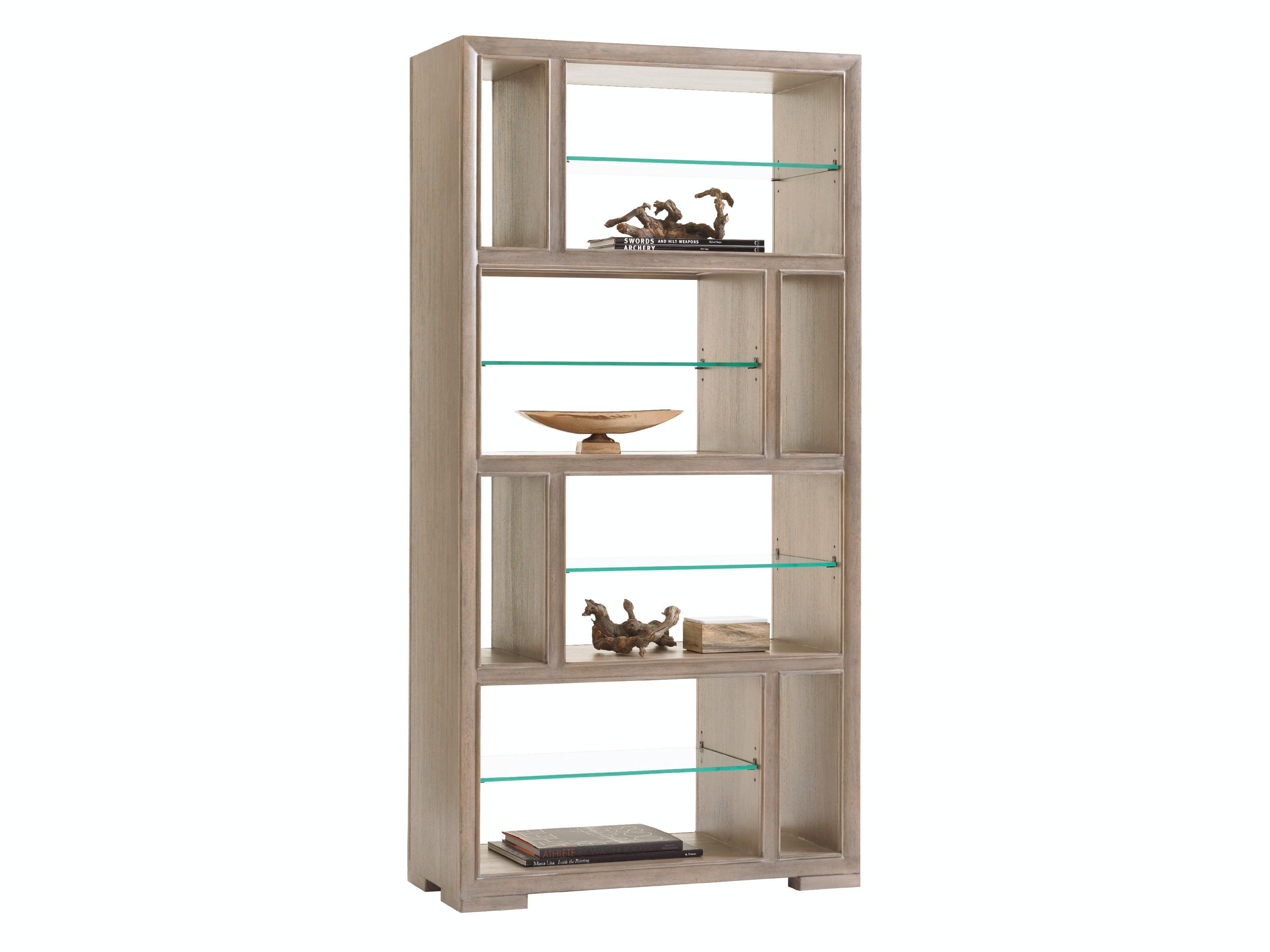 Lexington Home Office Windsor Open Bookcase Lx725991 Walter E Smithe Furniture Design