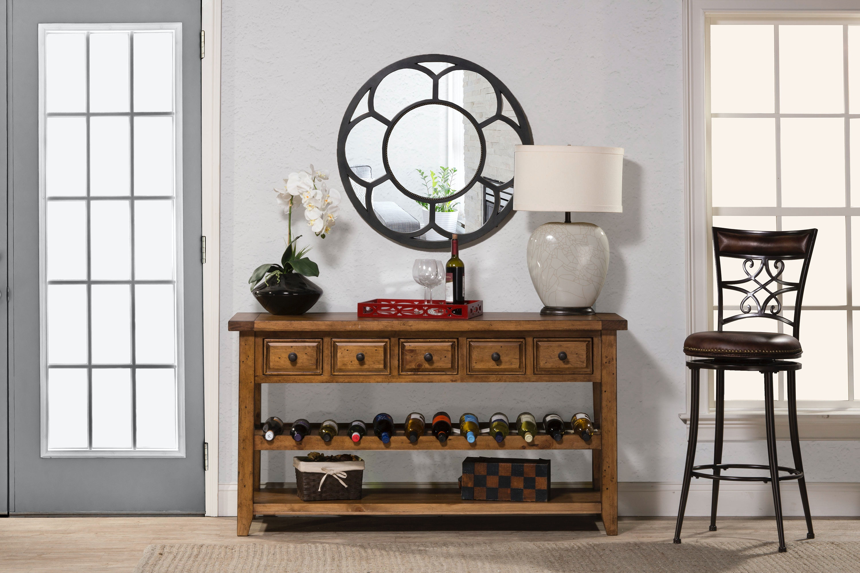Hillsdale Furniture Living Room Tuscan Retreat Wine Rack