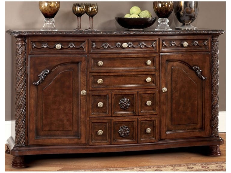 Ashley North Shore Dining Room Server D553 60 Portland OR Key Home Furnishings