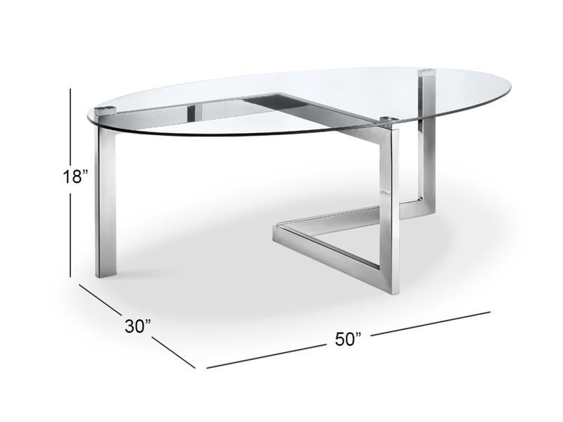 aries oval cocktail table t4616 47