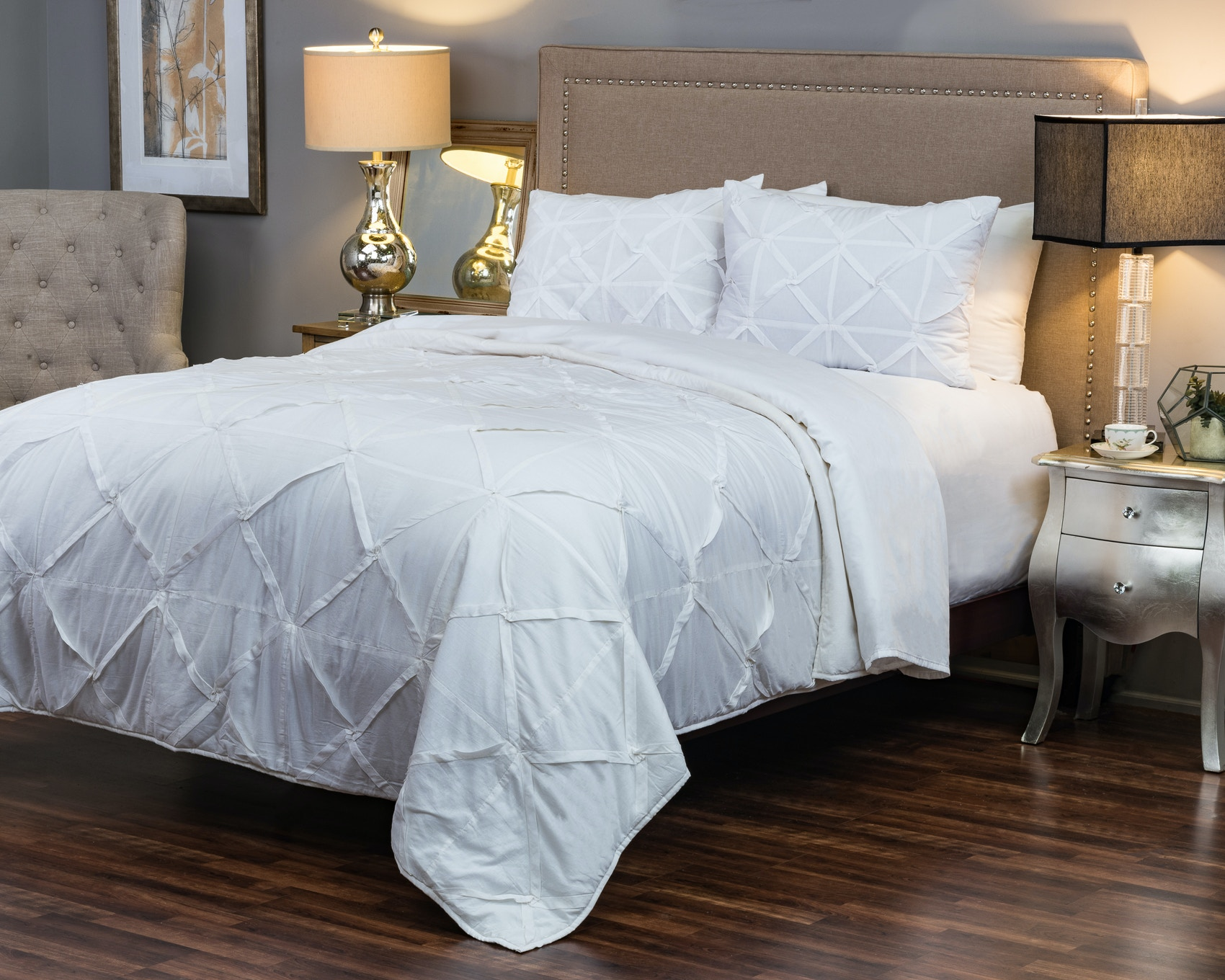 Rizzy Home Bedroom Carrington Quilt King 051622