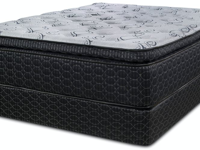 Symbol Mattress Lotus Pillow Top Set Queen 188175